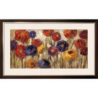 abstrakte blumen-ölgemälde großhandel-Handgemachte Ölgemälde von Silvia Vassileva Astern und Mütter abstrakte Kunst Blumen Hochwertige Wanddekoration