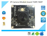 Acheter Caméras sécurisées-Luckertech Secure CCTV IP Camera module board focuesed full color ONVIF Full HD 720P 960P P2P Mobile Survillance