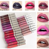 Wholesale Orange Lipgloss - COLOURPOP Lipgloss Ultra Matte lip multi Colors Liquid Lipstick Matte Waterproof colour pop Lip Gloss colorpop Lipgloss with Retail box