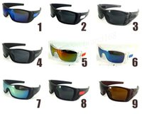 Wholesale Color Frame Clear Glasses Wholesale - New! FREE SHIPPING 2017 POPULAR FASHION SUNGLASS MEN'S WOMEN BATWOLF SUNGLASSES OUTDOOR SPORT GOOGEL GLASSES FAST SHIP .