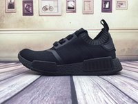 Wholesale Size 14 Flat Shoes Women - 2017 Discount Cheap Wholesale NMD Runner Primeknit Running Shoes Men Women New High Quality 14 Colors Cheap Sneakers Free Shipping Size 5-11