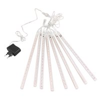 """Wholesale Tail Plug For String Lights - Waterproof LED Meteor Shower Rain String Light 30cm 11.8"""" Snowfall Christmas Deco Lights with Tail Plug for Party Wedding Decoration"""