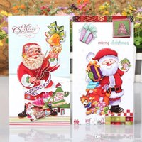 Greeting cards styles australia new featured greeting cards styles 8pcs set 3d flash powder 8 different styles of santa claus greeting cards envelope message card thank card holiday blessing card m4hsunfo