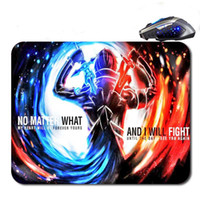 Wholesale Top Quality Notebooks - Anime Sword In Art Free Shipping Top Sellig High Quality Custom Print Fashion Durable Notebook Gaming Rubber Mouse Pad
