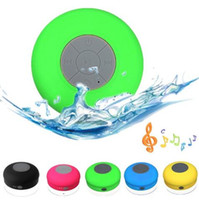 Wholesale Mini Wireless Bluetooth Speaker Waterproof Subwoofer Car Handsfree Music HIFI Mic Suction For ios Android Phones