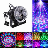 ingrosso sfera magica principale controllata dal suono-Lampade da palcoscenico LED a controllo vocale RGB Crystal Magic Ball Sound Control Laser Stage Effect Light Party Disco Club DJ Light