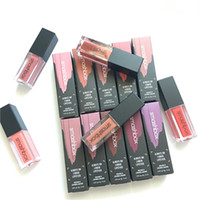 Wholesale Hill Mix - Smashboxes Limited Edition Matte Liquid lipstick Lip Gloss Color Makeup Loshing Lasting Star Lipgloss Set Beverly Hills 10 Colour