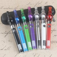 Wholesale Ego V Starter - 2017 eVod eGo Glass Globe Wax Dome Bulb Vaporizer Pen Starter Kit Micro USB Pass Through UGO V 650 900 mah Dab Pens