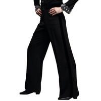 Wholesale Hot Latin Men - Hot Sales Men Latin Dance Pants Salsa Tango Modern Dancing Trousers Ballroom Dance Pants for Male UA0192