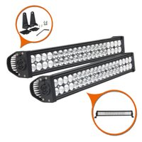 "Wholesale Waterproof Atv Led Lights - 24"" inch 120W Waterproof IP67 LED Work Light Bar Combo Beam Driving Light for Offroad 4WD Ford SUV Boat Truck Tractor Trailer ATV UTV 10-30V"