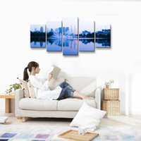 Wholesale oil paintings sea view resale online - oil Painting Sea view Hd print canvas painting Photo print painting Prints Wall Pictures for Living Room Picture PL5