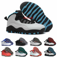 Wholesale Cotton Silk China - Retro 10 Basketball Shoes Women Man Fashion Superstar China Retros X Sport Canvas Real Authentic Men