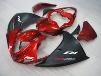 Wholesale Customize Yzf R1 - Injection mold free customize fairing kit for Yamaha YZF R1 09 10 11-14 wine red black fairings set YZF R1 2009-2014 OY13