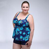 vestidos de una sola pieza tamaño xxl al por mayor-Más el tamaño XXL-6XL Verano Mujer Vestido de baño Imprimir Trajes de baño de una pieza Traje de baño Traje de baño atractivo Monokini