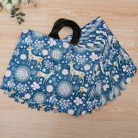 Wholesale Hand Bag Store - Fashion Thickening Shopping Bags with Hand Handle packaing Gift bag Clothes Cosmetics Jewelry Store Sika deer shopping Bag
