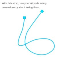 Wholesale Loop Device - Device for Preventing Drop Loss for Iphone 7 Apple Airpods Cable Silica Gel Straps Anti Lost Strap Loop String Accessories