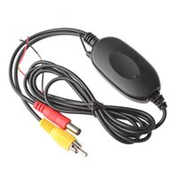 Wholesale Front Vehicle Camera - 2.4G Wireless Color Video Transmitter and Receiver for Vehicle Backup Camera Front Car Camera CEC_607