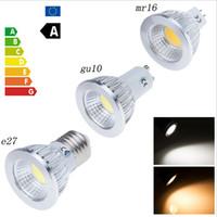 Wholesale Mr16 Led 12v 15w Epistar - COB 9W 12W 15W Led Spotlights Lamp 60 90 120 Angle GU10 E27 E26 MR16 GU5.3 Dimmable Led Bulbs Warm Cool White