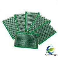 Wholesale Pcb Universal Board Double - 10pcs Double Side Prototype PCB diy Universal Printed Circuit Board 5x7 4x6 3x7 2x8 cm Hot sale
