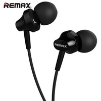 Remax RM-501 Earbuds intra-auriculares de música Music Stereo Wire-Based Headset With Microphone 3.5mm Audio 1.2m Comprimento do cabo