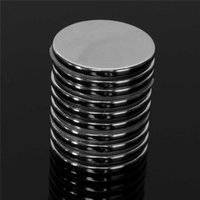 Wholesale Magnet Neo - 10Pcs 30mm x 3mm Disc Super Strong Round Magnets Rare Earth Neo Neodymium N35 Circular magnet Permanent magnet