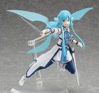 Wholesale Sword Art Online Figures - New hot sale anime figure toy Figma 264 Sword Art Online ALO asuna 14CM gift for children