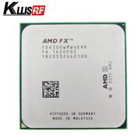 procesadores amd am2 al por mayor-AMD FX 6300 AM3 + 3.5GHz 8MB Procesador de la CPU FX envío en serie gratis piezas dispersas FX-6300