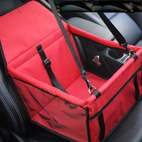 Wholesale Seat Cover For Pets Wholesale - Waterproof Oxford Cloth Pet Dog Car Travel Mat Folding Washable Hammock Car Seat Cover Pad for Small Medium Dog Car Safety Belt