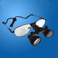 Wholesale Surgical Microscope Glasses - 2.5X 3.0X 3.5X R Teeth Whitening Magnification Frame Medical Near Sighted Dental Loupes Replaceable Glasses Surgical Operation Magnifier