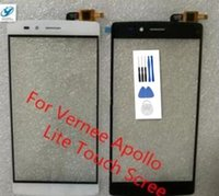 Wholesale Touchscreen Modules - Wholesale- Vernee Apollo Lite Touch Screen Original for 5.5 Inch Apollo Lite touchscreen without lcd Digitizer Assembly Repair module