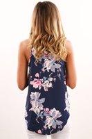 Wholesale Sexy Women Tees Sale - 2017 Hot Sale Women Tanks & Camis Tops & Tees Summer New Fashion Slim Type Printing Sleeveless Tape