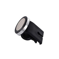 Wholesale Browning Swivel - Wholesale-2016 Best Price Handsfree Car Mount Holder Metal Swivel 360 Phone Galaxy Disc Mount Phone For iPhone GPS Free Your Hand EA1475