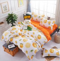 Wholesale Cheap Comforter Sets Queen - 2017 winter thicken polyester cheap yellow flat bed sheet