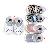 Wholesale Toddler Leopard Sandals - 2017 Summer New High-grade Baby Girls Leopard lace sandals Lovely Fashion Princess Toddler Soft sole shoes Baby First Walkers shoes