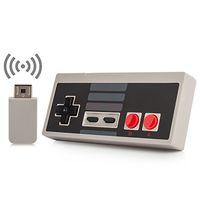 controlador de botón inalámbrico al por mayor-Promoción Wireless USB Plug and Play Gamepad Gamepad para Mini Botones Classic Edition With Wrireless Receiver