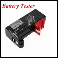 Wholesale Aa D - Universal Battery Tester Checker for 9V  AA  AAA  C   D   N 1.5V Button Cell Batteries New Arrival Wholesale price DHL free