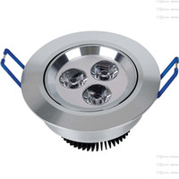Wholesale Green Light Drivers - Cree LED Ceiling Lights Dimmable 9W 12W 15W 21W 27W 36W 45W 54W Recessed LED Downlights spotlight lighting lamp + driver