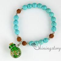 Wholesale Seed Beaded Bracelets - bodhi seed prayer beads beaded diffuser bracelets tree of life bracelet meditation beads yoga jewelry