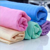 ingrosso finestre di casa mobile-Panni multifunzionali per la pulizia di asciugamani in pelle di cervo Asciugamani per uso domestico Asciugamani per auto Lavavetri per auto 42,7 * 31,7 cm