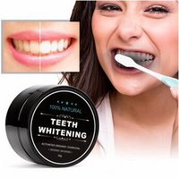 Wholesale 30g Teeth Whitening Charcoal Powder Natural Activated Bamboo Toothpaste Teeth Whitening Paste Deeply Clean Oral Hygiene Care CCA6405