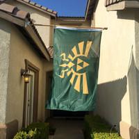 Wholesale Custom Zelda - Zelda Triforce Indoor Outdoor Banner Flag 3X5 Custom America USA Team Soccer College Baseball Flag