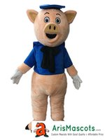 benutzerdefinierte schwein kostüm großhandel-Lovely Pink Pig Maskottchen Kostüm Kaufen Sie Maskottchen Online Benutzerdefinierte Maskottchen Kostüme Tier Maskottchen Sport Maskottchen für Team Deguisement Mascotte