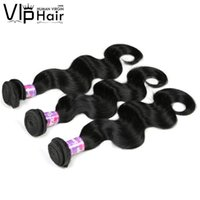 "Wholesale Pruvian Virgin Hair - Pruvian Body Wave Human Hair Extension 100g pcs 7A 3pcs lot Unprocessed 8""-28"" Pruvian Virgin Hair Weave Double Weft Hair Wefts"