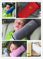 Wholesale Bar Pad Cover - Baby Children Car Auto Safety Seat Belt Soft Harness Shoulder Pad Cover Children Protection Covers Cushion Support Pillow Seat WD343