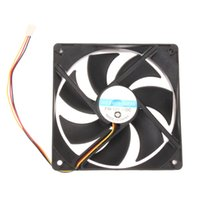 Atacado- 120mm 120x25mm 12V 3Pin DC Brushless PC PC Case Cooler Cooling Fan