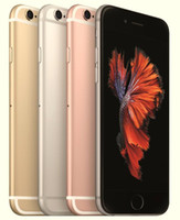 Wholesale Wholesale Unlocked Iphone Gold - Apple iPhone 6S Dual Core Unlocked Cell Phone 16GB 64GB 128GB IOS 9 4.7 Inch 12MP Without FingerPrint