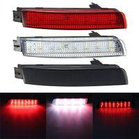 Wholesale Nissan Led Tail Lights - 2 PCS LED Bumper Reflector Red lens Tail Brake Light Lamp For Nissan Juke Murano Infiniti FX35 FX37 FX50