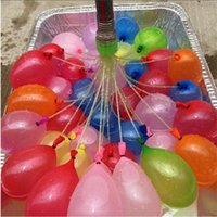 Wholesale Decoration Bunch - Water Easy Filled Balloon Toy Bunch of Balloons Amazing Kid Magic Water Balloon Bombs Toys Filling Water Ballons Games Kids Decoration Party