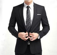 Wholesale Tuxedos Colors Groomsmen - 2017 New Groom Tuxedos Many Colors Groomsmen Side Vent Best Man Suit Wedding Men Suits Bridegroom (Jacket+Pants)