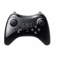 Wholesale Wiiu Game - Classic bluetooth wireless gamepad controller joystick for wii u pro game remote console wiiu Upgraded version (black)